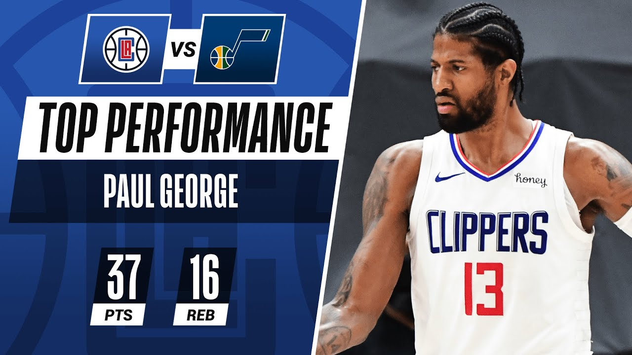 Paul George SNAPS for HISTORIC 37 PTS in CRUCIAL Game 5! 🔥