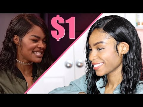 Teyana Taylor Inspired Hair► Wet Hair Look