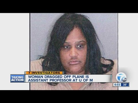 Woman dragged off Delta flight was a U of M assistant professor