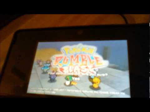 How to delete a Pokemon Rumble Blast save file on the 3DS!!