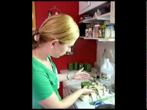 The Frugal Food Gal Pickles Green Beans