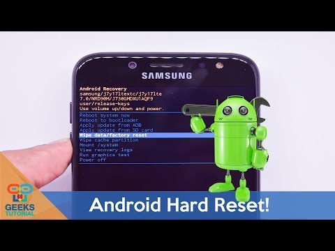 How to hard reset your android phone (Samsung)