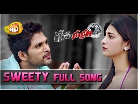 Xxx Mp4 Race Gurram Video Songs Sweety Full Song Allu Arjun Shruti Haasan S Thaman 3gp Sex