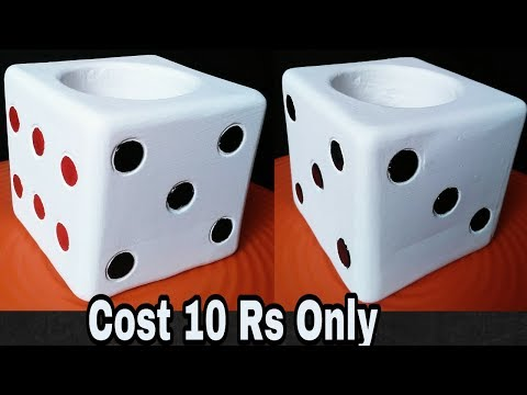 How to make dice style pot very easy