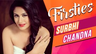 Surbhi Chandna aka Anika REVEALS Her First KISS, Boyfriend & More! | FIRSTIES | EXCLUSIVE