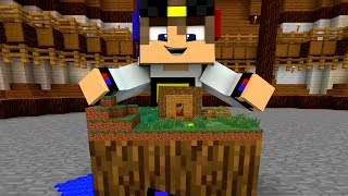 ВАМПИР НАШЕЛ Самую маленькую деревню дом с ловушкой! Мир УМЕНЬШИЛСЯ в Майнкрафт выживание мультик