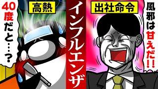 【アニメ】インフルエンザで出社するとどうなるのか?