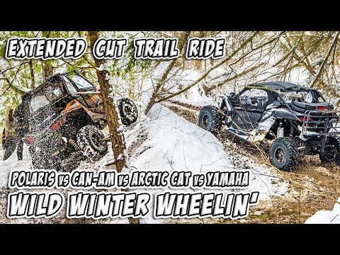 Xxx Mp4 Wild Winter Wheelin In Canada SXS UTV Feature Length Trail Ride TeamAJP Trail Vlog 011 3gp Sex