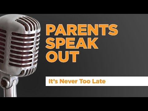 Start Now - Parents Speak Out