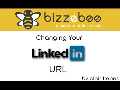 Changing Your LinkedIn URL