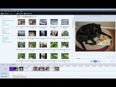 How to add titles and credits using Windows Movie Maker