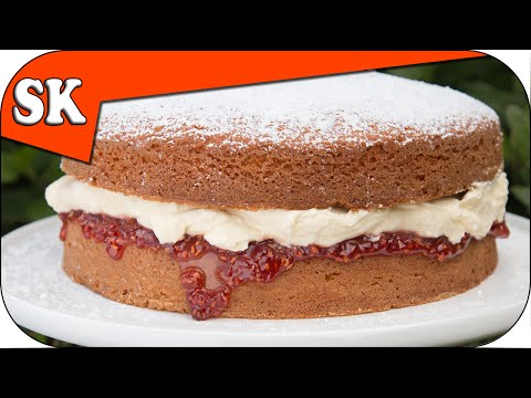 How to Make a Victoria  Sandwich - Simple Cake Recipe