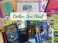 DOLLAR TREE HAUL | Back to School Supplies | 2016