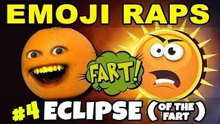 Annoying Orange - EMOJI RAPS #4: ECLIPSE (of the Fart) 🍊💨☀️
