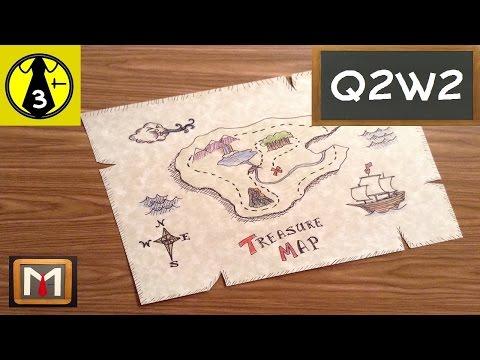 Drawing a Treasure Map