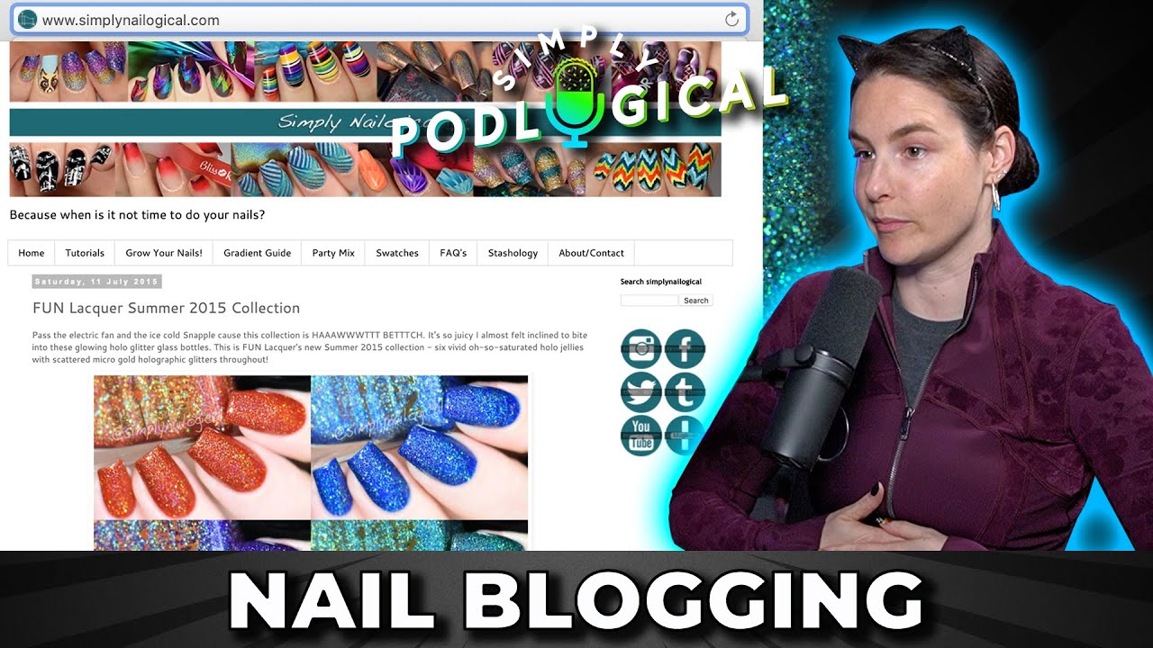 The Nail Polish Community & Why Cristine Stopped Nail Blogging - SimplyPodLogical #19