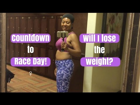 ⏳Countdown to Race Day: Will I Lose the Weight? - Dating God's Way In My 40's