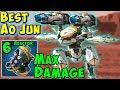 Best Ao Jun Redeemer Max Damage Killer War Robots Mk2 Gameplay WR