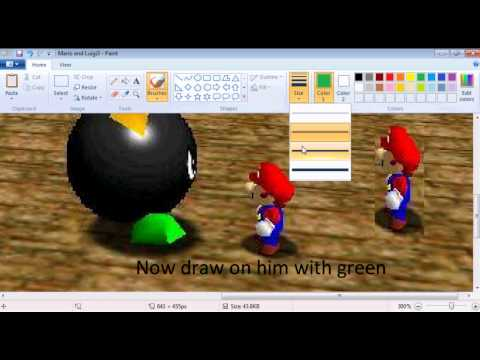 How To Make A Fake Mario And Luigi Picture
