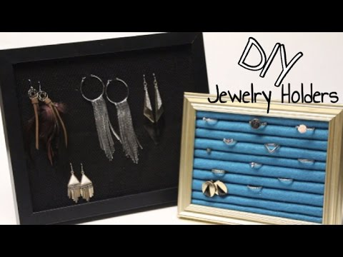 DIY GIFTS: JEWELRY HOLDER