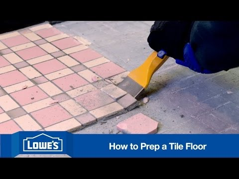 How to Prep Subfloor for Tile Installation