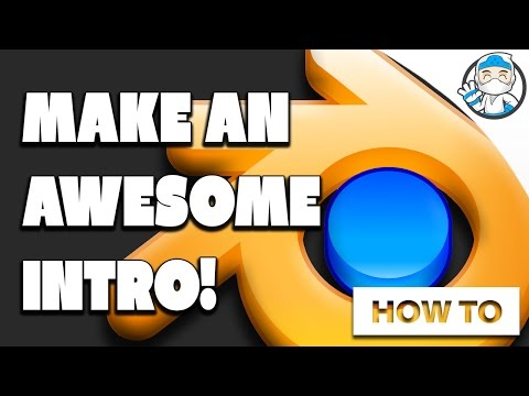How To Make An Intro With Blender Free (YouTube Intro Tutorial)