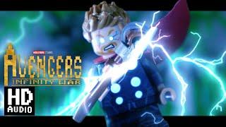 Avengers Infinity War: Thor Arrives in Wakanda in LEGO Audio Remastered