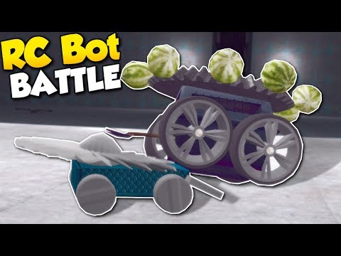 RC BATTLE BOT CHALLENGE! - Garry's Mod Gameplay - Gmod Battle Bot Building