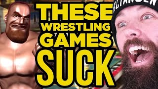 These Wrestling Video Games SUCK!