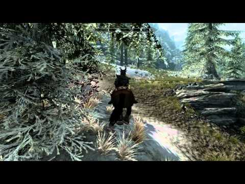 How to reach the Gloombound Mine in Skyrim (PC Footage)