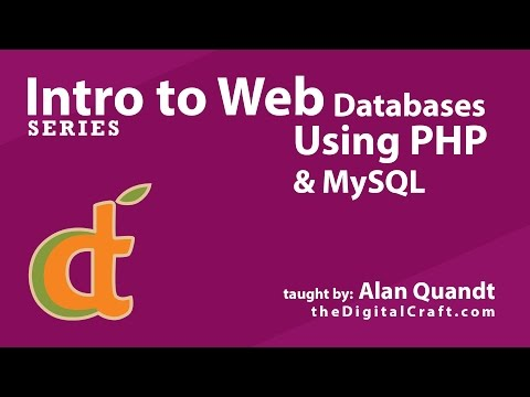 Intro to Web Databases | Lesson 1 - Creating the database