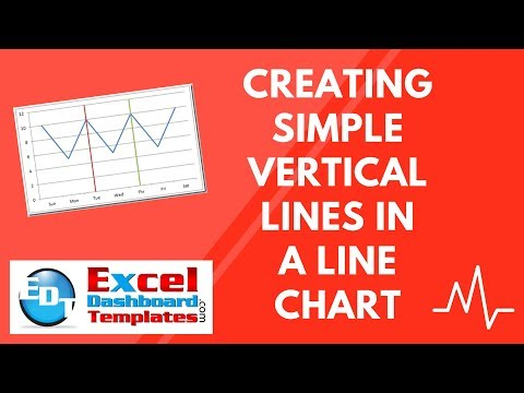 Creating Simple Vertical Lines in an Excel Line Chart