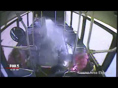 E-cigarette explodes on bus