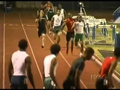Jeshua Anderson High School 400m/High Jump/4x400m Relay/300m Hurdles Taft Track Highlights