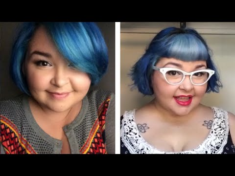 How to Cut and Style Your Own Bangs/Fringe