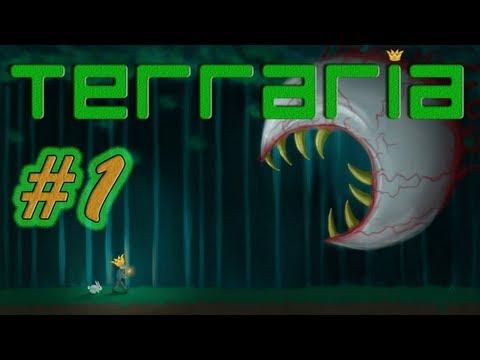 Lets Play Terraria - #1 Und so beginnt es... [HD] [Deutsch] [Reborn Mod] Kings Watch
