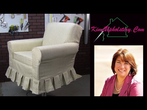 Slipcover Quick Tutorial