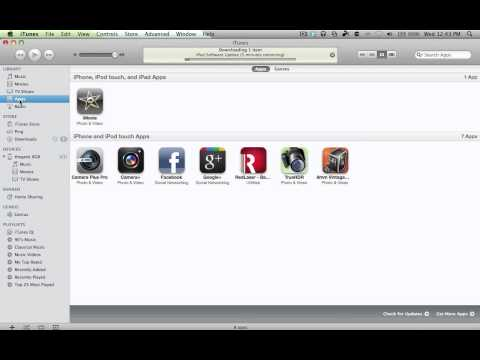 How to Transfer App Purchases from iPod/iPhone to iTunes
