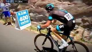 Geraint Thomas CUNNING Performance Up the Corkscrew Climb : Tour Down Under 2013