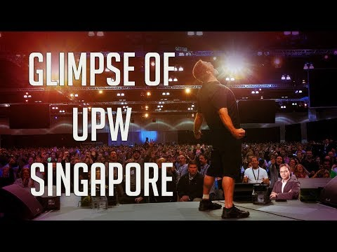 """Glimpse of """"Unleash The Power Within"""" at SINGAPORE 