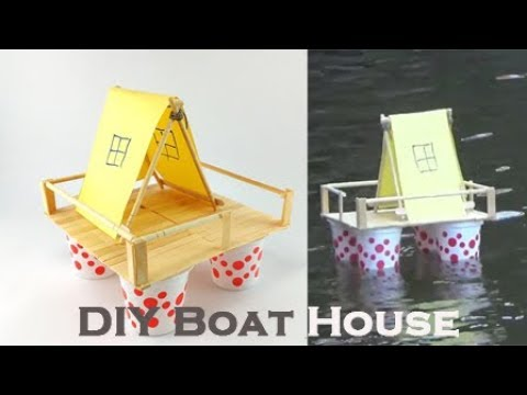 How to Make Boat : House Boat