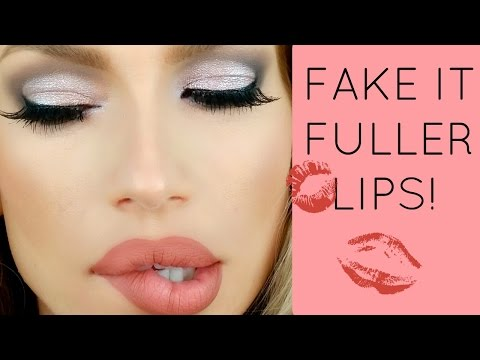 Fake it! FULLER LIPS / Overlining lips tutorial