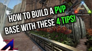 4 Tips on how to build a PVP base! | Official PvP | ARK: Survival Evolved