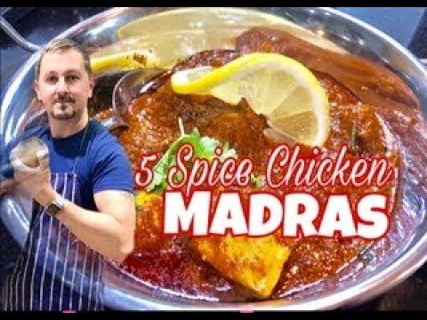 5 Spice Chicken MADRAS -  Al's kitchen