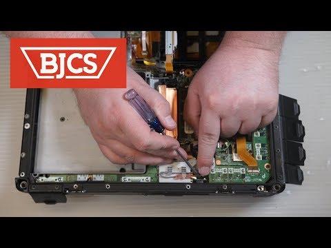 How to Replace the Panasonic Toughbook CF-31 Pass Through Antenna