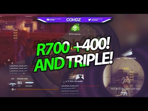 I HIT MY FIRST R700 +400! AND A TRIPLE ON DISTRICT! | Live Highlights #27! | @cohhdz