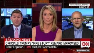 Sparks fly over Trump