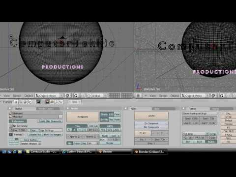 How to Make a Custom Universal Studios Introduction- Blender