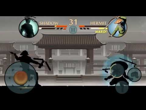 Shadow Fight 2 Defeating Hermit (No Hack / No Cheat)