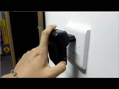 WISEUP WIFI AC Adapter Hidden Camera Complete Operation Instruction (Model Number: WIFI23)